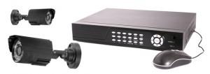 Digital Video Recorder and video surveillance camera